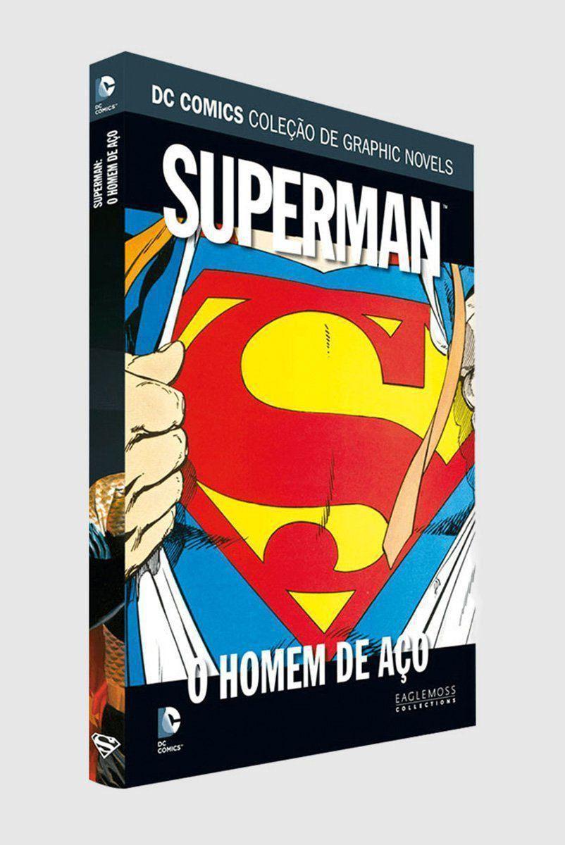Graphic Novel Superman: O Homem de Aço  - bandUP Store Marketplace