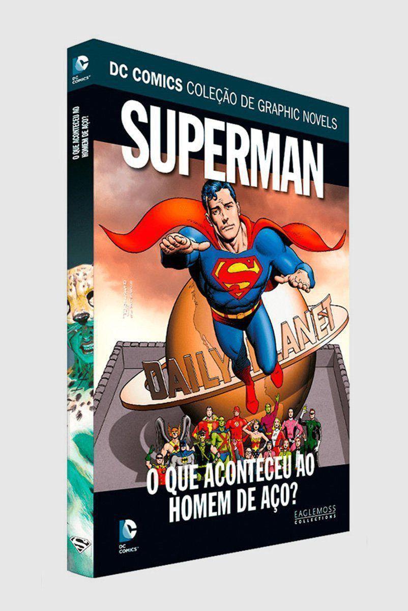Graphic Novel Superman: O Que Aconteceu ao Homem de Aço? ed. 63  - bandUP Store Marketplace