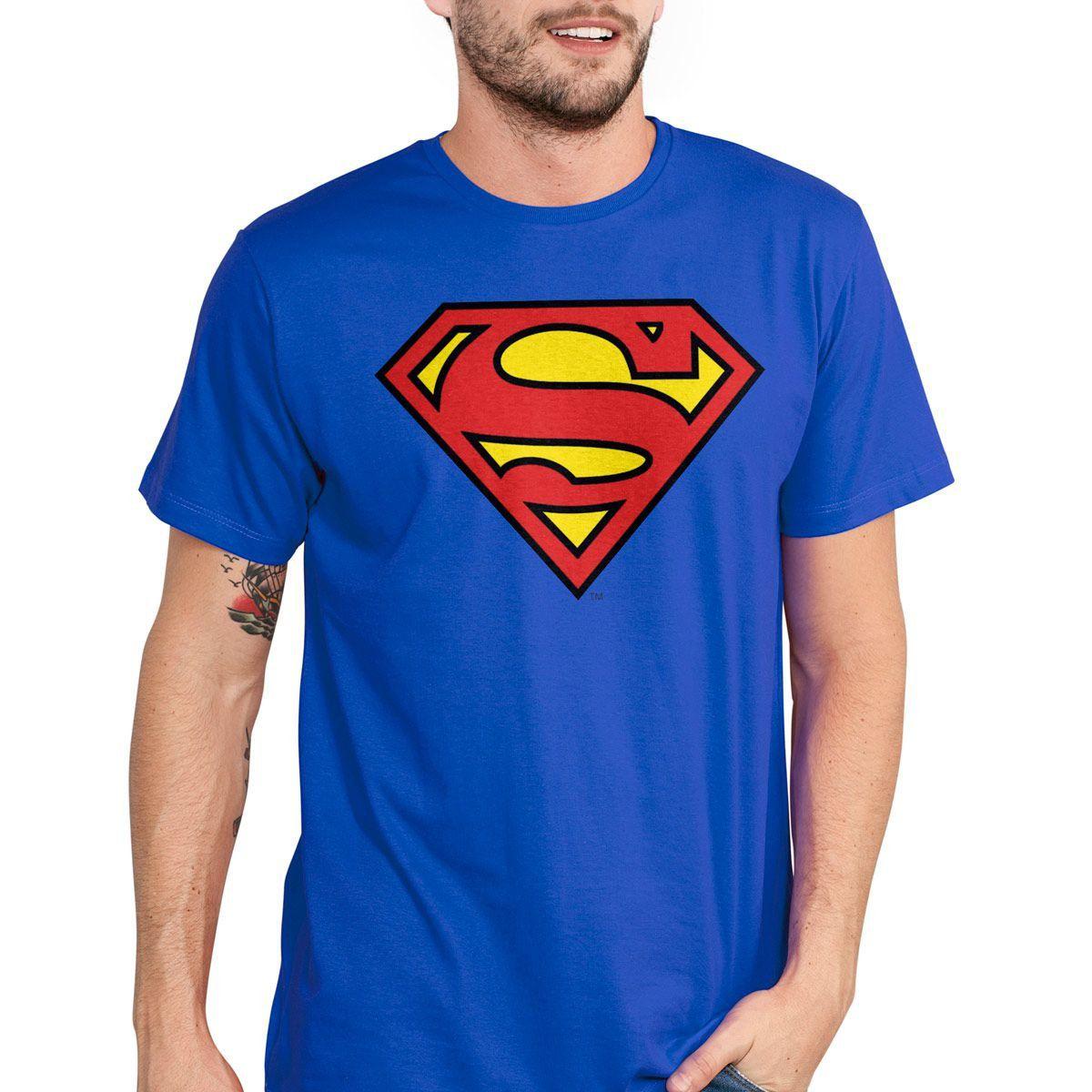 Kit com 3 Camisetas Masculinas DC Comics Logos Clássicos  - bandUP Store Marketplace