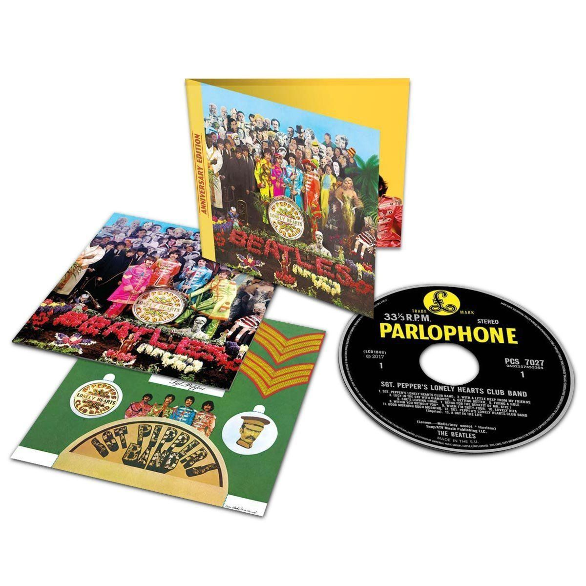 Kit Gift Box The Beatles Sgt Peppers 50 Anos - Deluxe - bandUP Store Marketplace