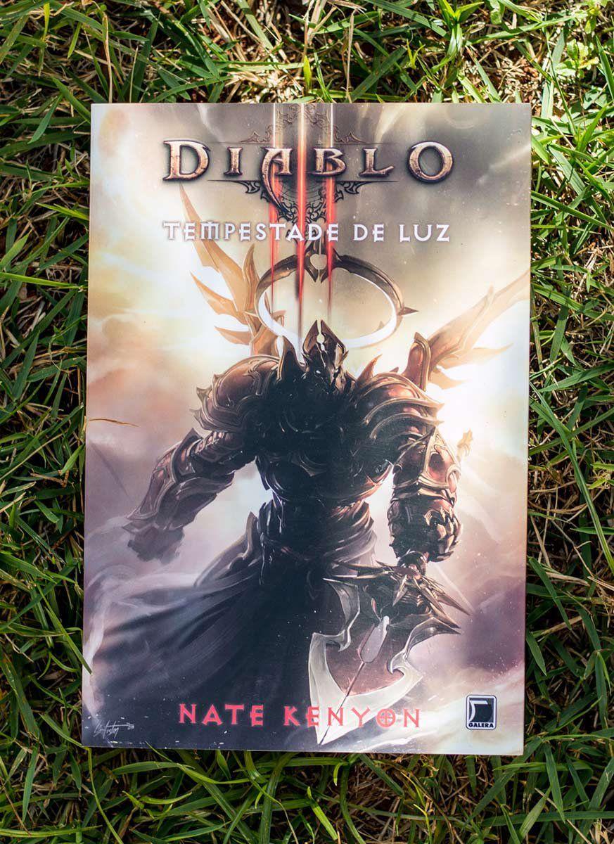 Livro Diablo III Tempestade de Luz  - bandUP Store Marketplace