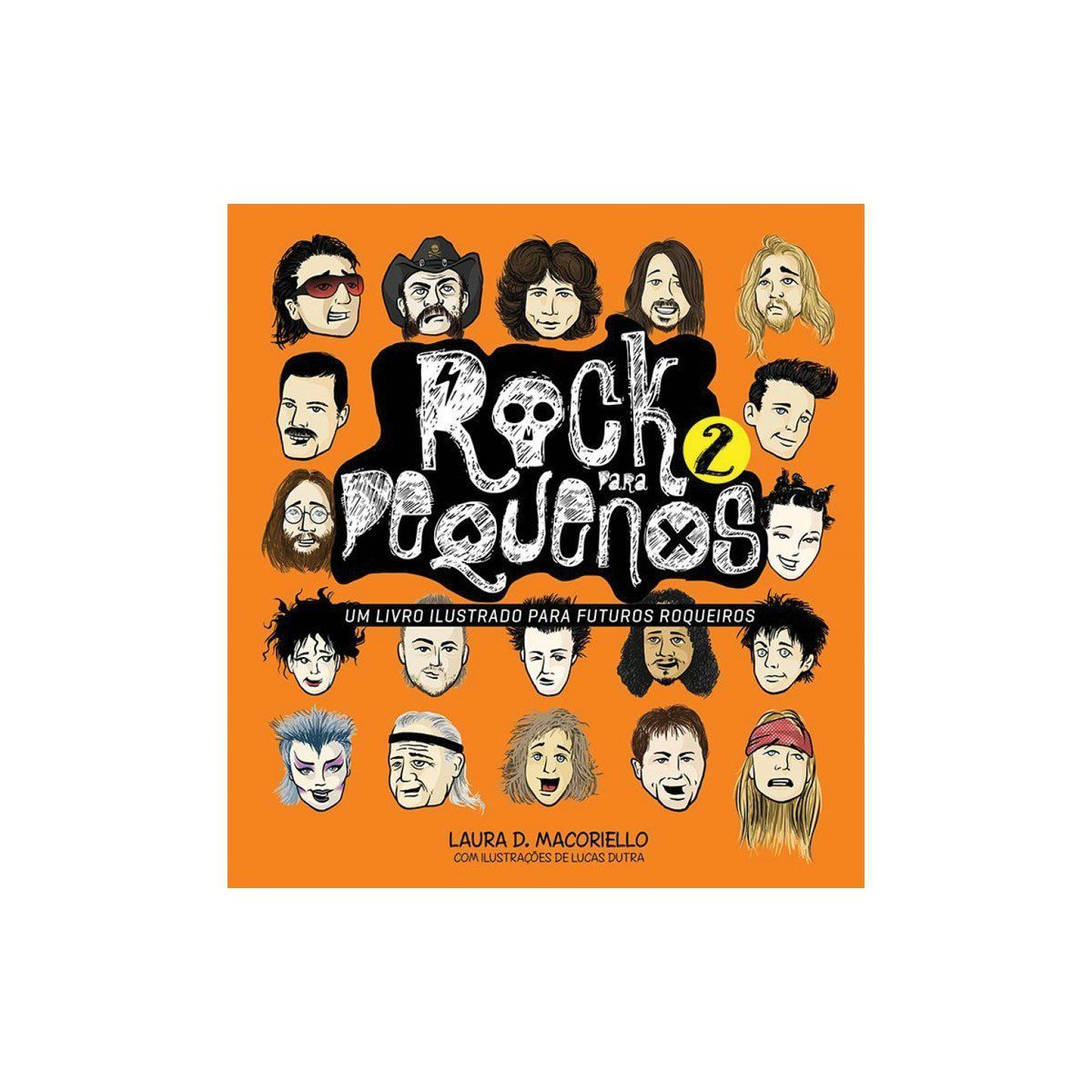 Livro Rock Para Pequenos Vol.2  - bandUP Store Marketplace