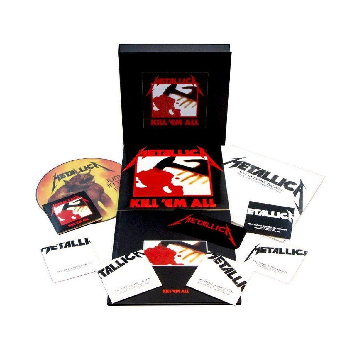 LP Box Set Metallica Kill´em All Oficial  - bandUP Store Marketplace