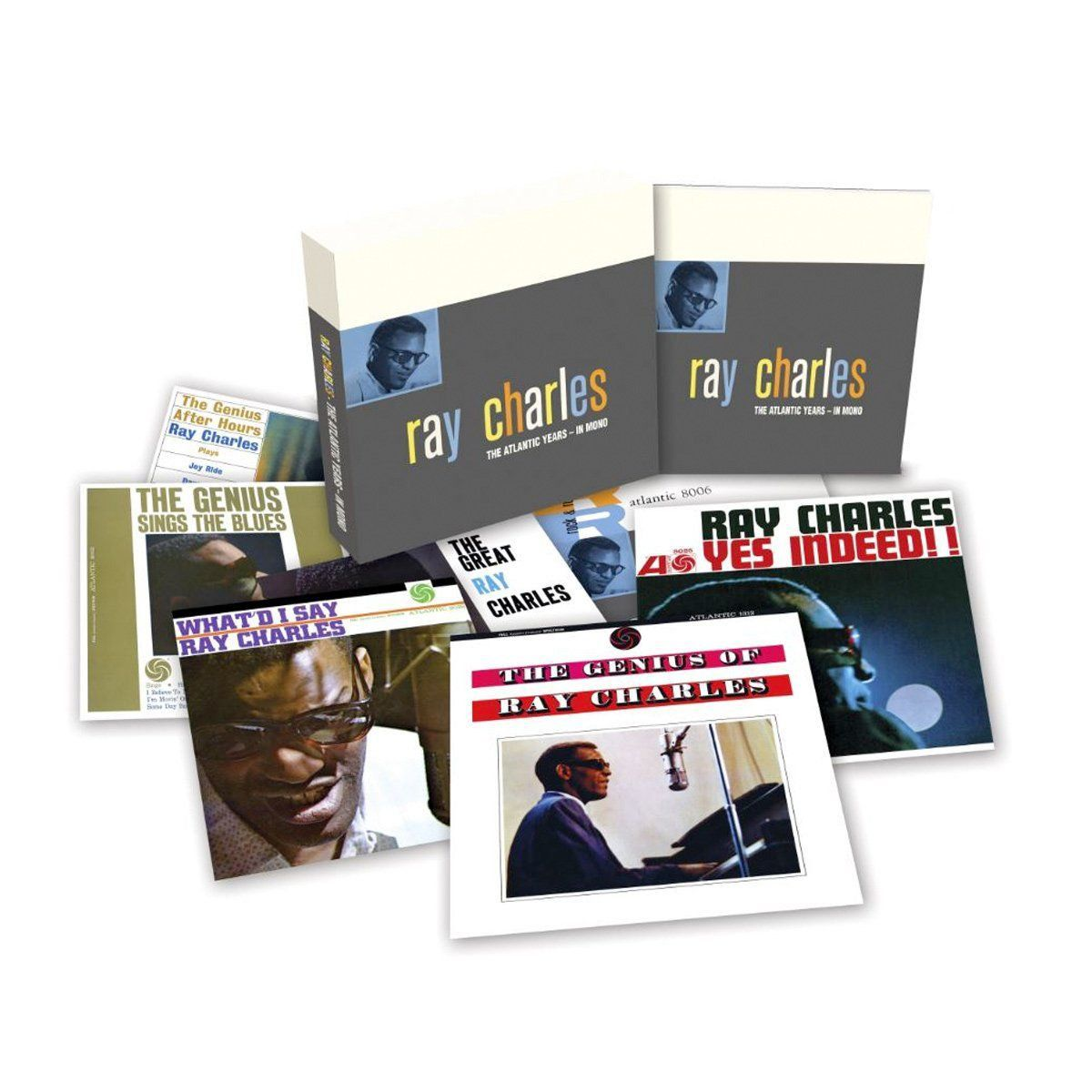 LP Box Set Ray Charles The Atlantic Years In Mono Oficial  - bandUP Store Marketplace