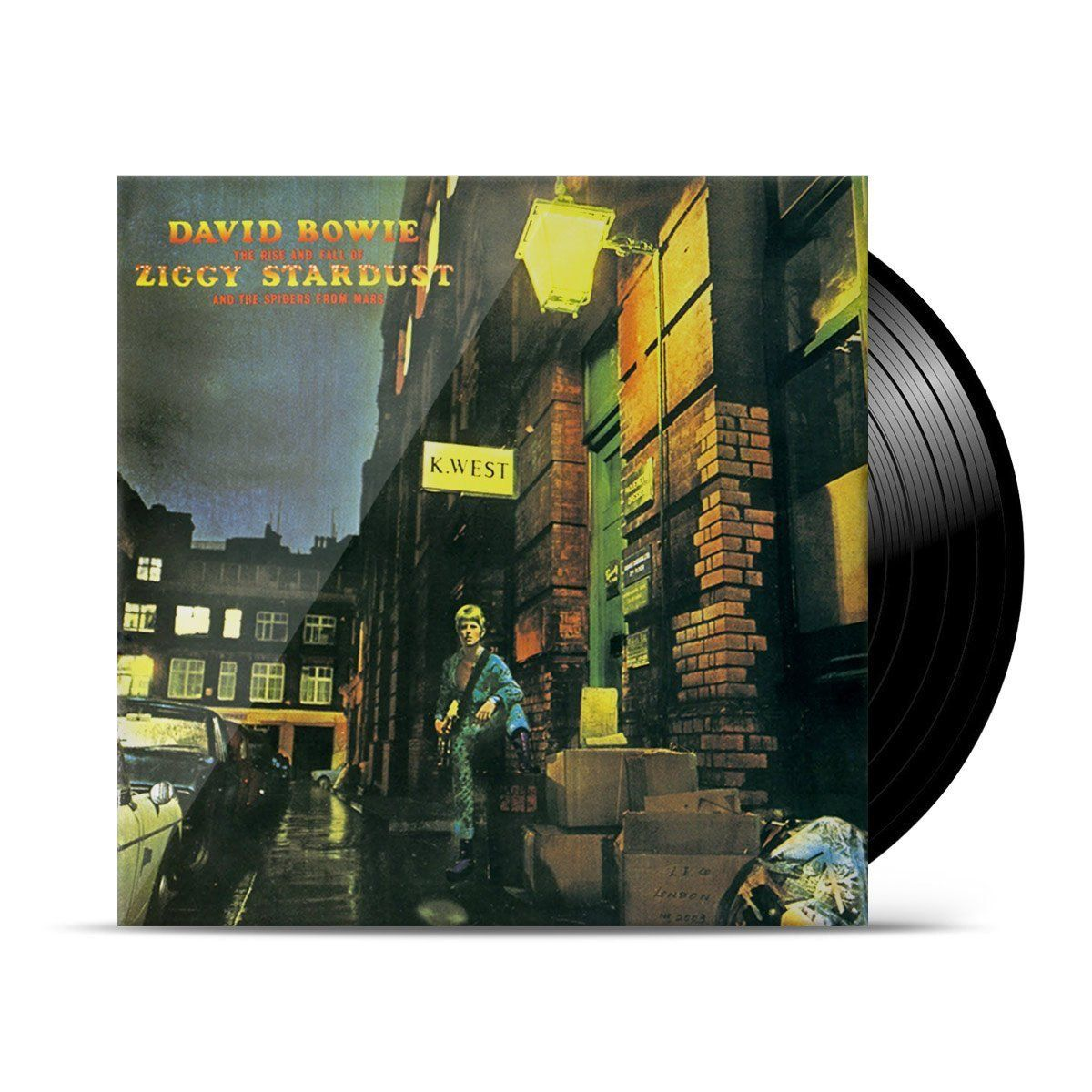 LP David Bowie The Rise And Fall Of Ziggy Stardust And The Spiders From Mars  - bandUP Store Marketplace