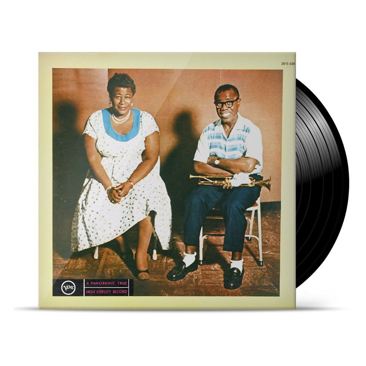 LP Ella Fitzgerald & Louis Armstrong Ella And Louis  - bandUP Store Marketplace