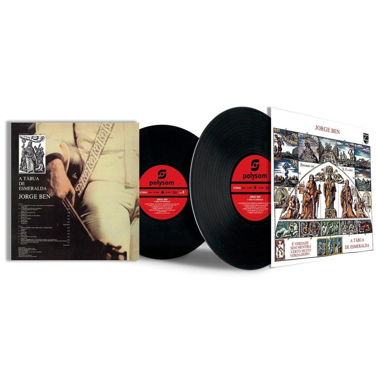 LP Jorge Ben A Tábua De Esmeralda  - bandUP Store Marketplace