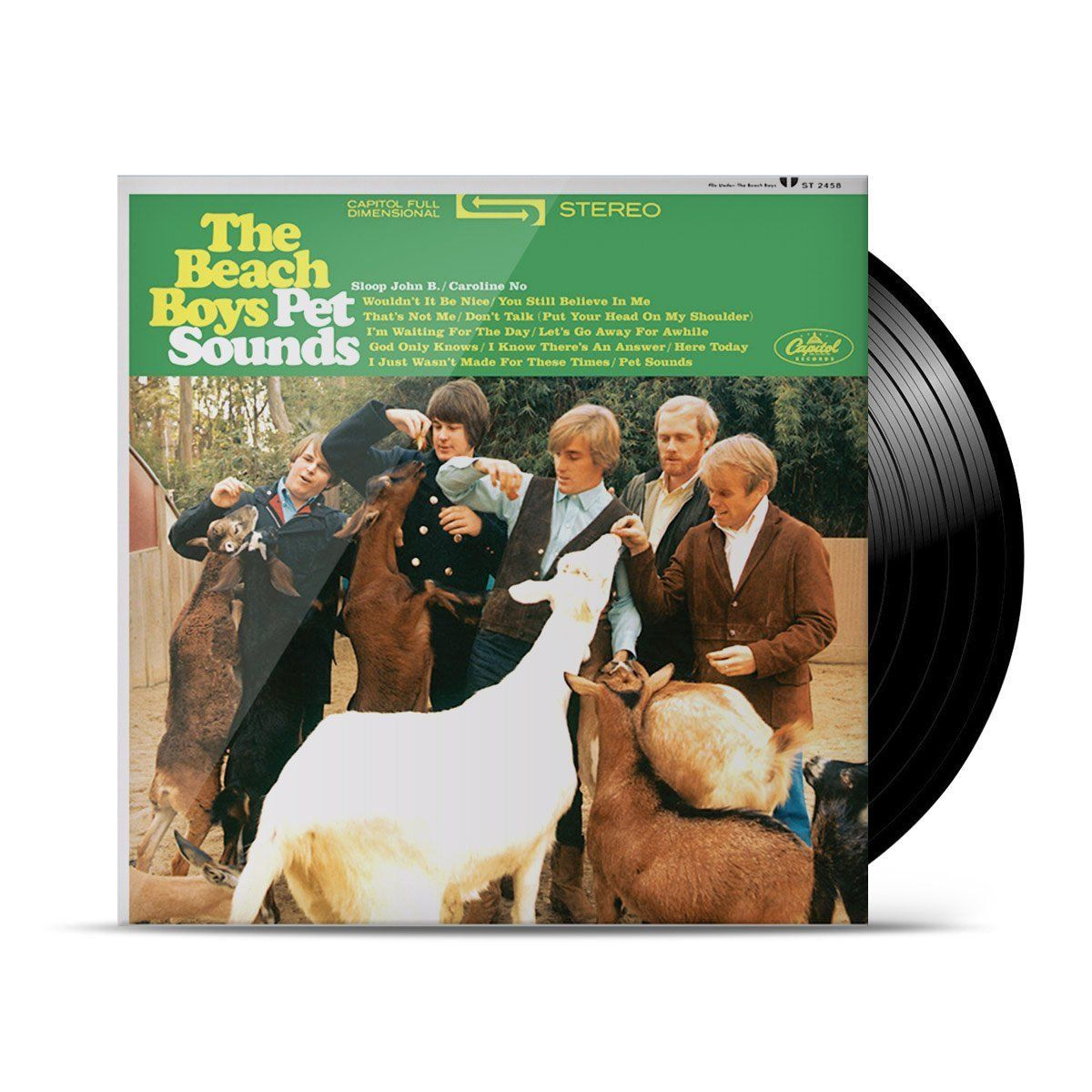 LP The Beach Boys Pet Sounds (Stereo) Oficial  - bandUP Store Marketplace