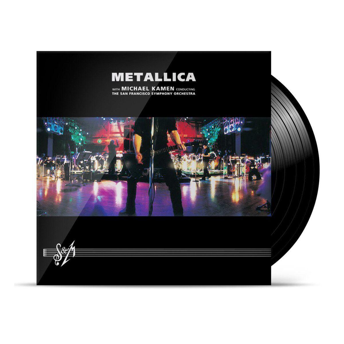 LP Triplo Metallica S&M  - bandUP Store Marketplace