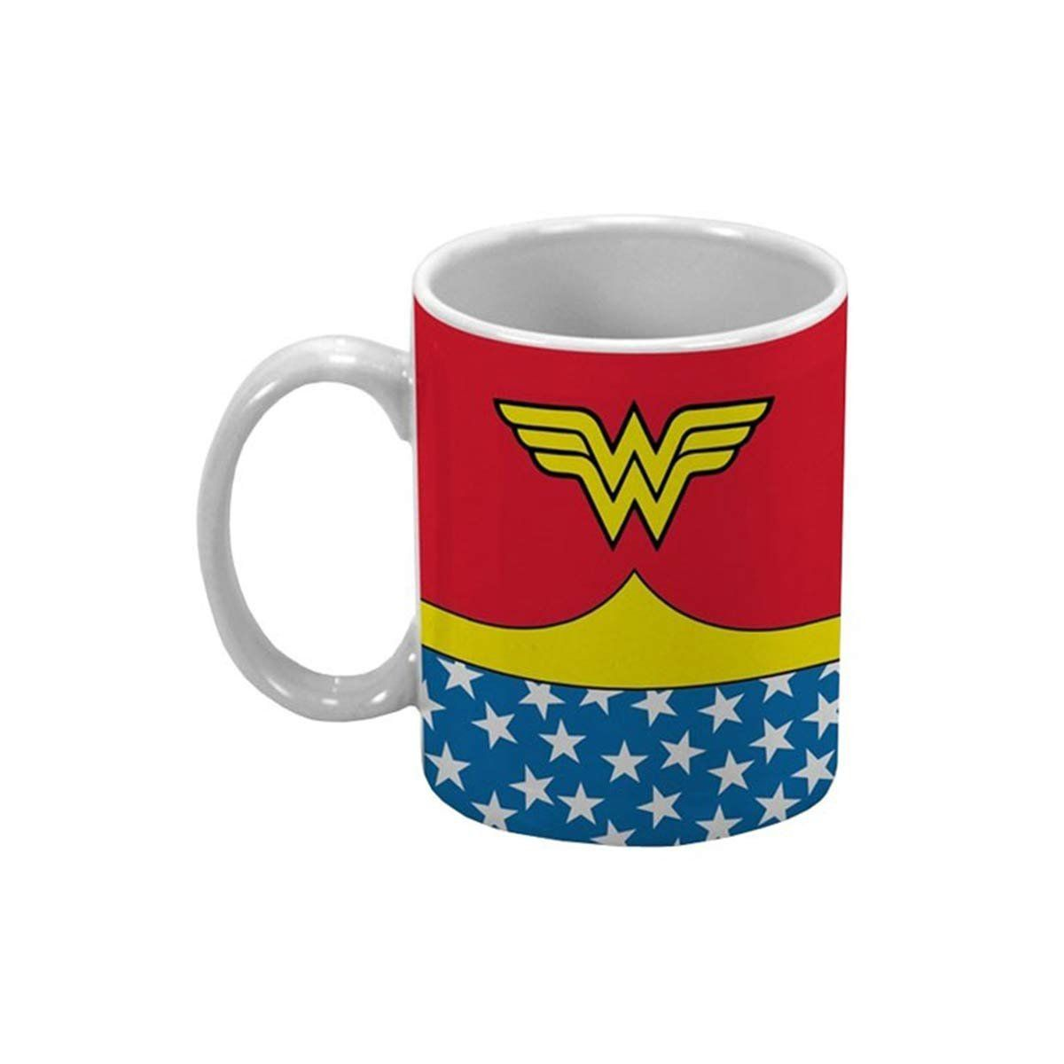 Mini Caneca de Porcelana Wonder Woman Body Customs Oficial  - bandUP Store Marketplace