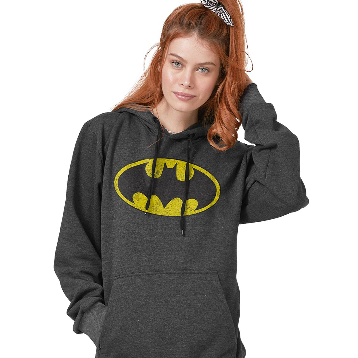 Moletom Feminino Batman Logo Clássico  - bandUP Store Marketplace