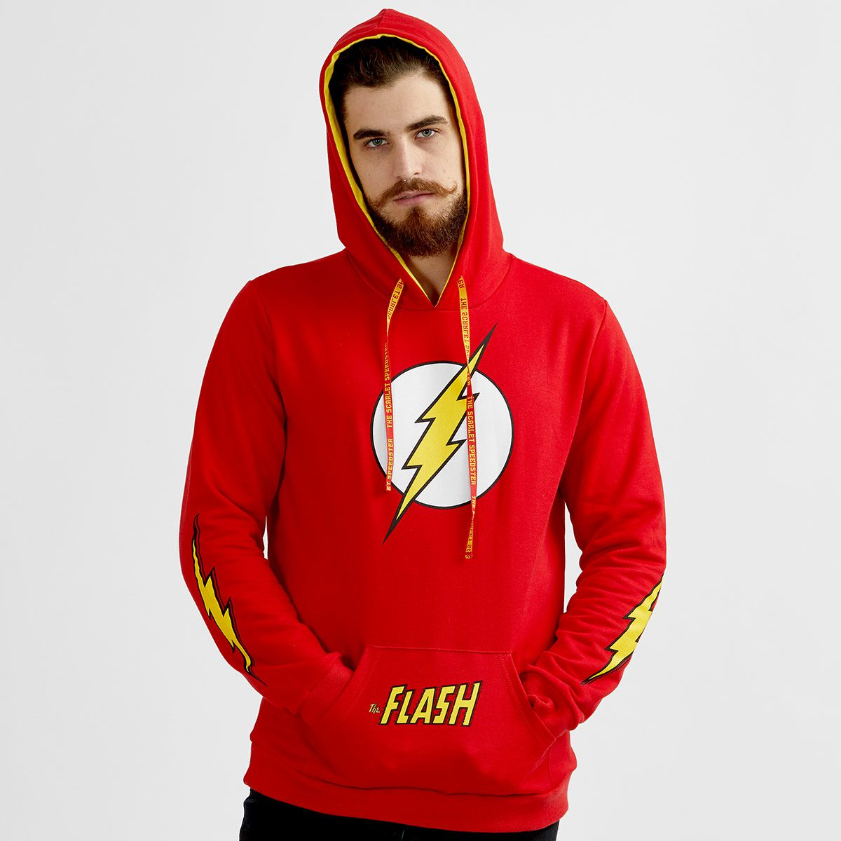Moletom Masculino The Flash Logo  - bandUP Store Marketplace
