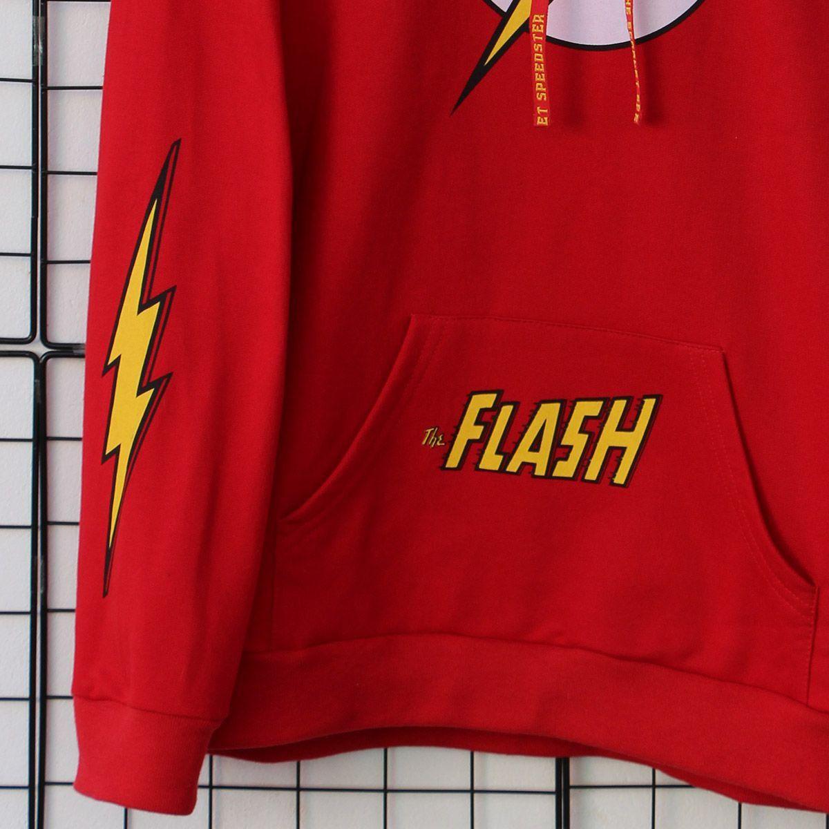 Moletom Masculino The Flash Logo  - bandUP Store Marketplace