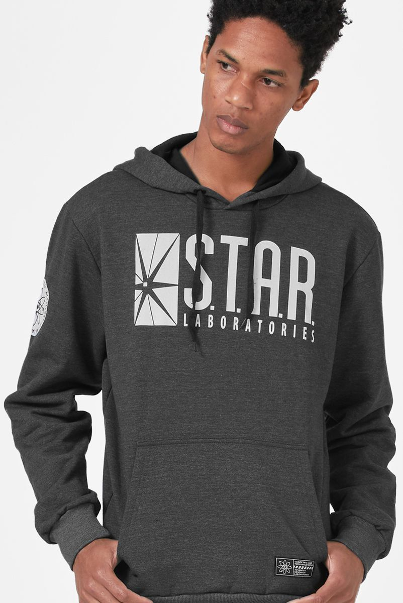 Moletom The Flash Serie Star Laboratories  - bandUP Store Marketplace