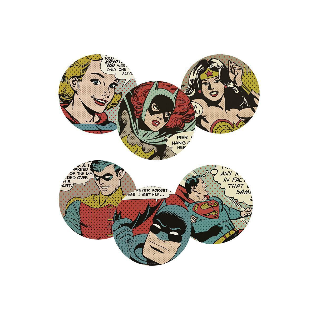 Porta Copos DC Comics HQ Vintage  - bandUP Store Marketplace