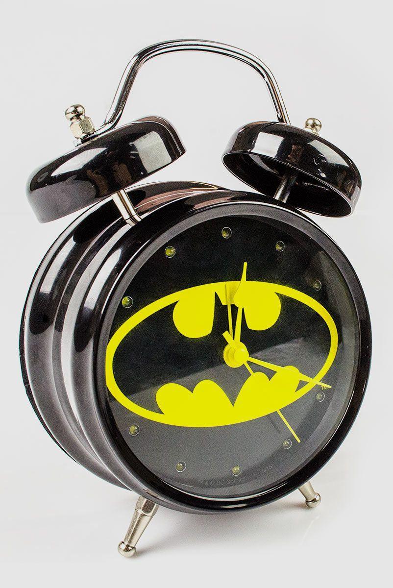 Relógio Despertador Batman com Som  - bandUP Store Marketplace
