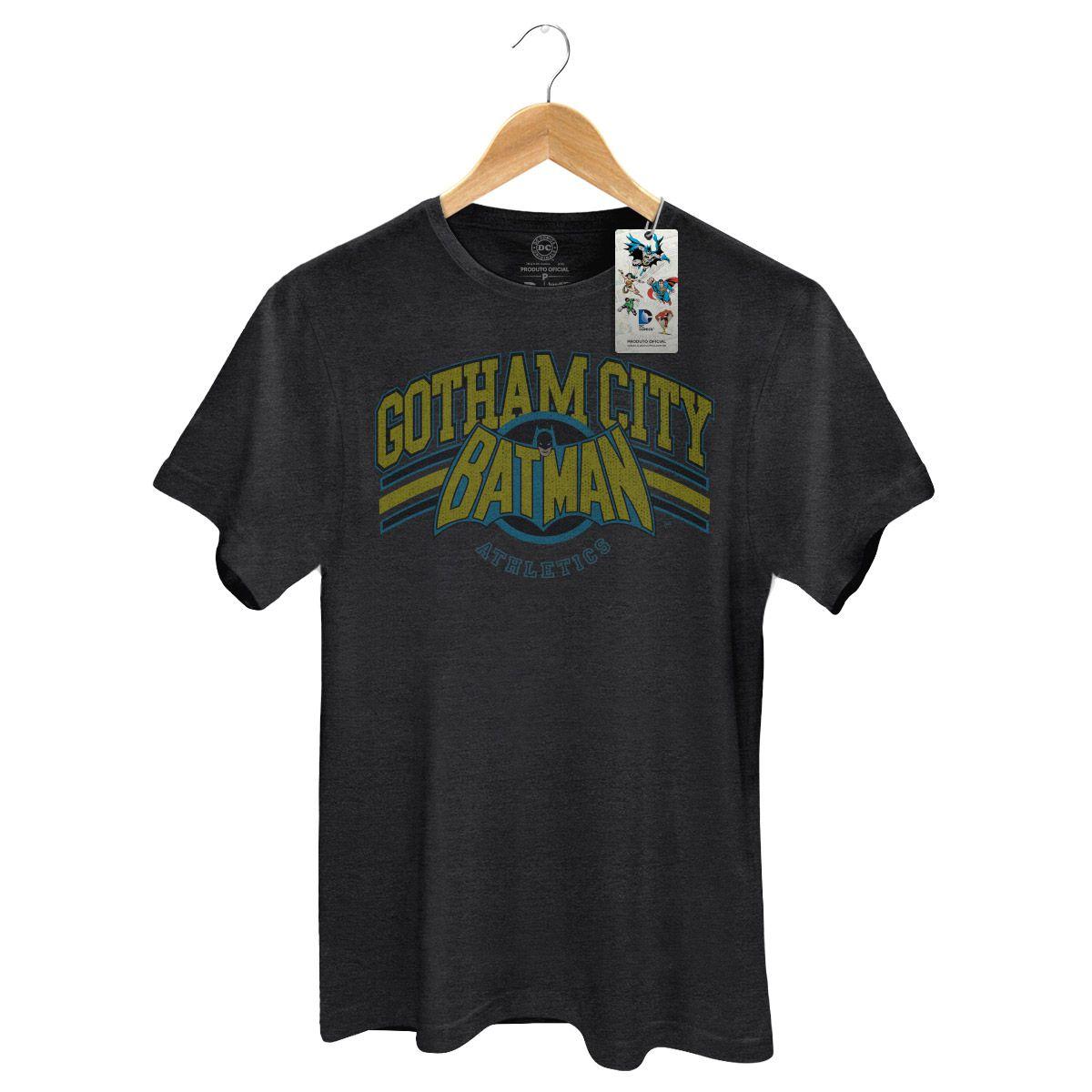 T-shirt Premium Masculina Batman Gotham Logo  - bandUP Store Marketplace