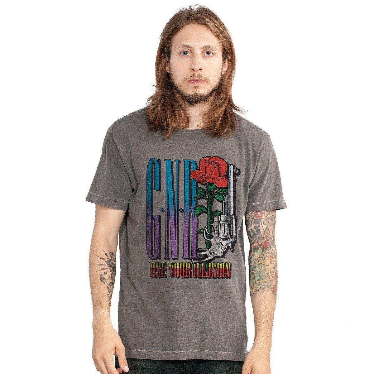 T-shirt Premium Masculina Guns N