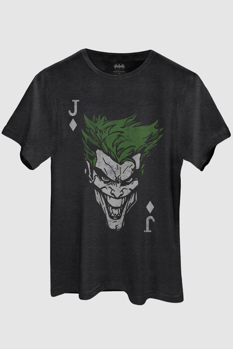 T-shirt Premium Masculina The Joker Card  - bandUP Store Marketplace