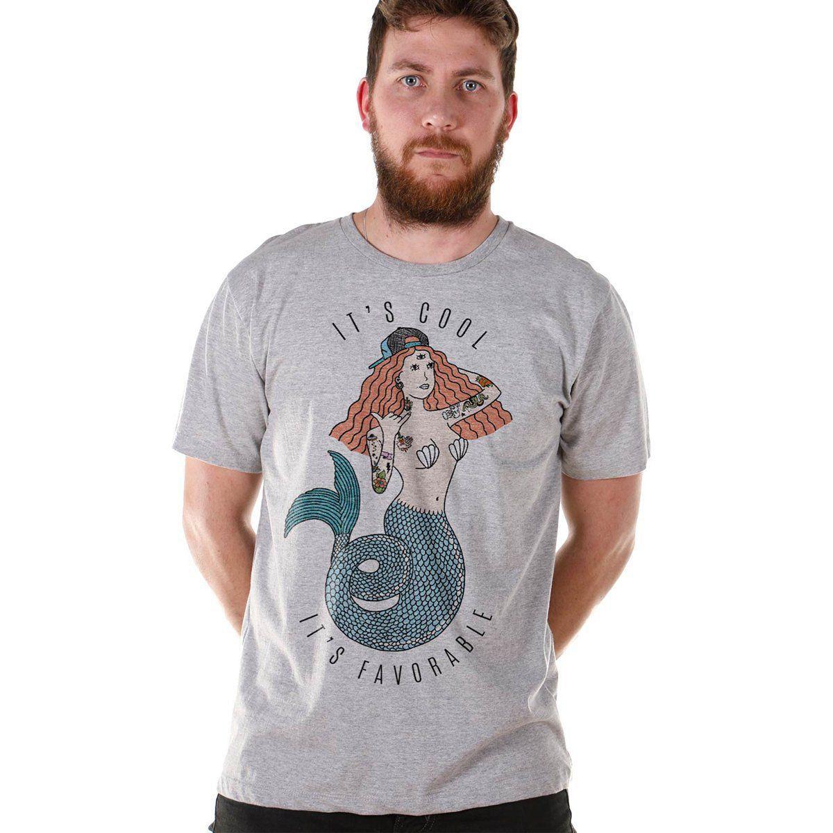 T-shirt Thug Mermaid  - bandUP Store Marketplace