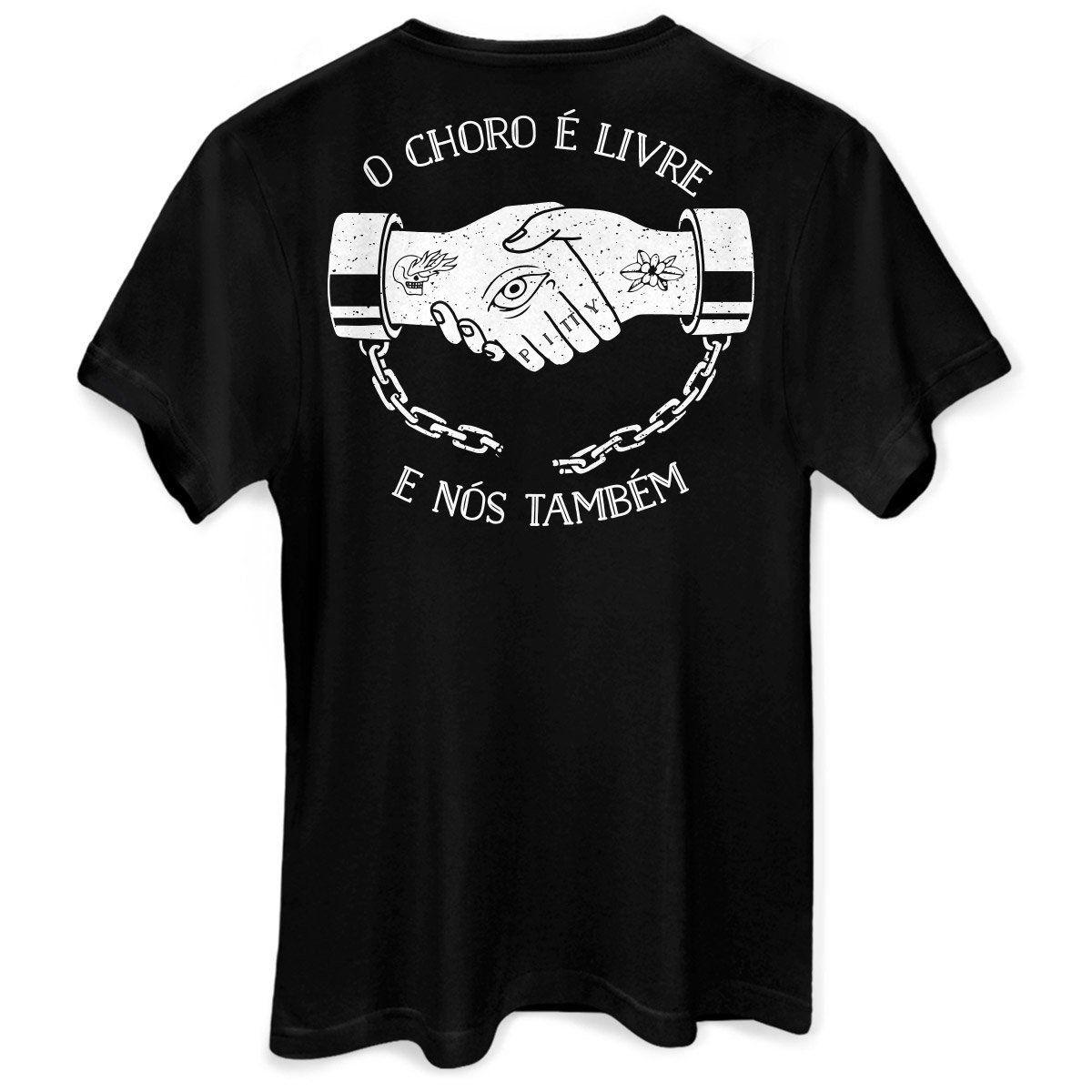 T-Shirt Unissex Pitty Livre  - bandUP Store Marketplace