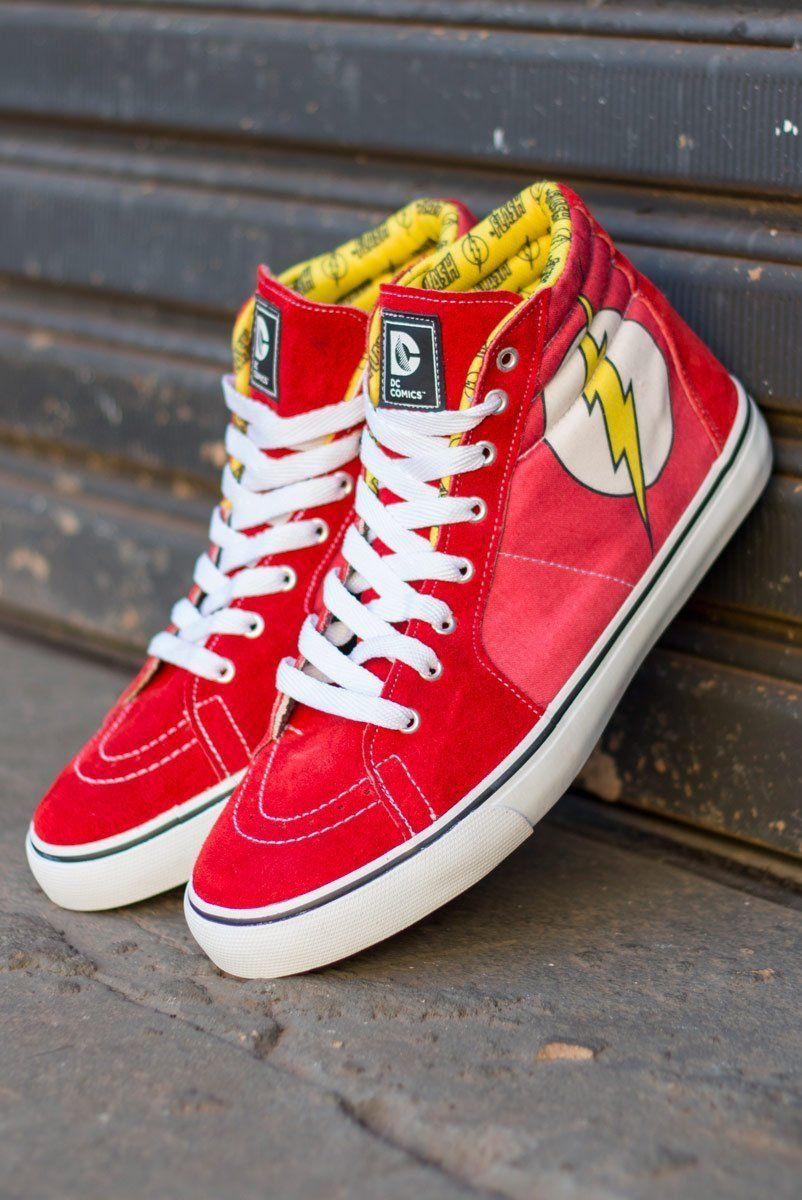 Tênis Cano Alto DC Comics The Flash  - bandUP Store Marketplace