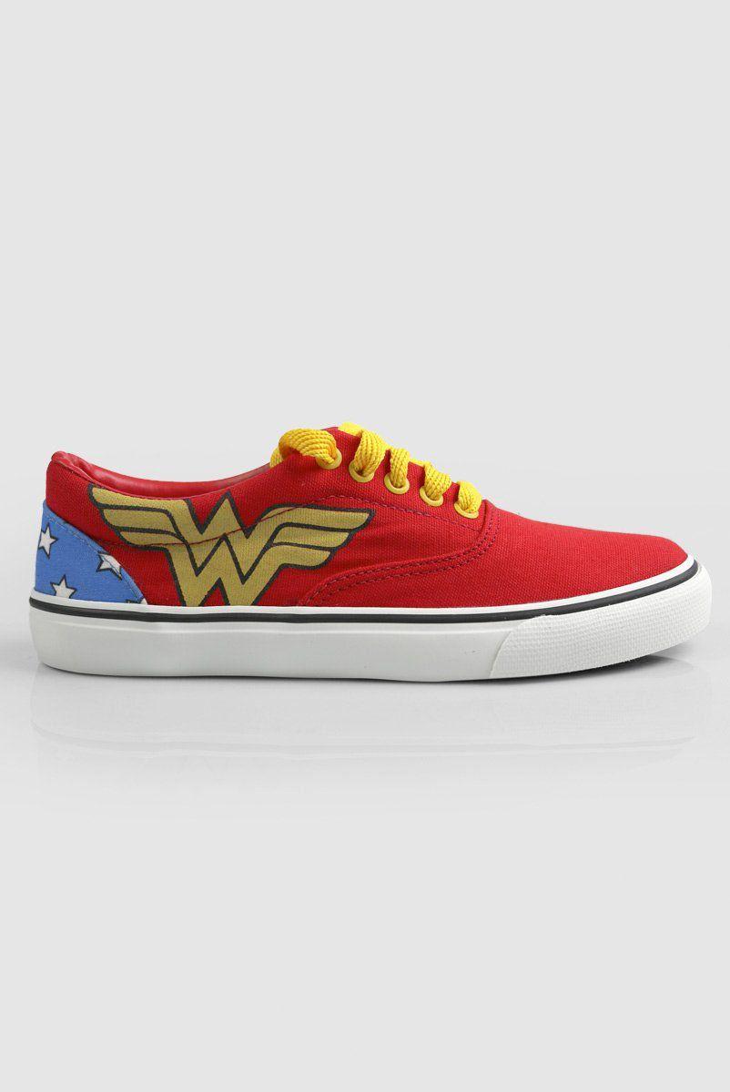 Tênis Cano Baixo DC Comics Wonder Woman Classic  - bandUP Store Marketplace