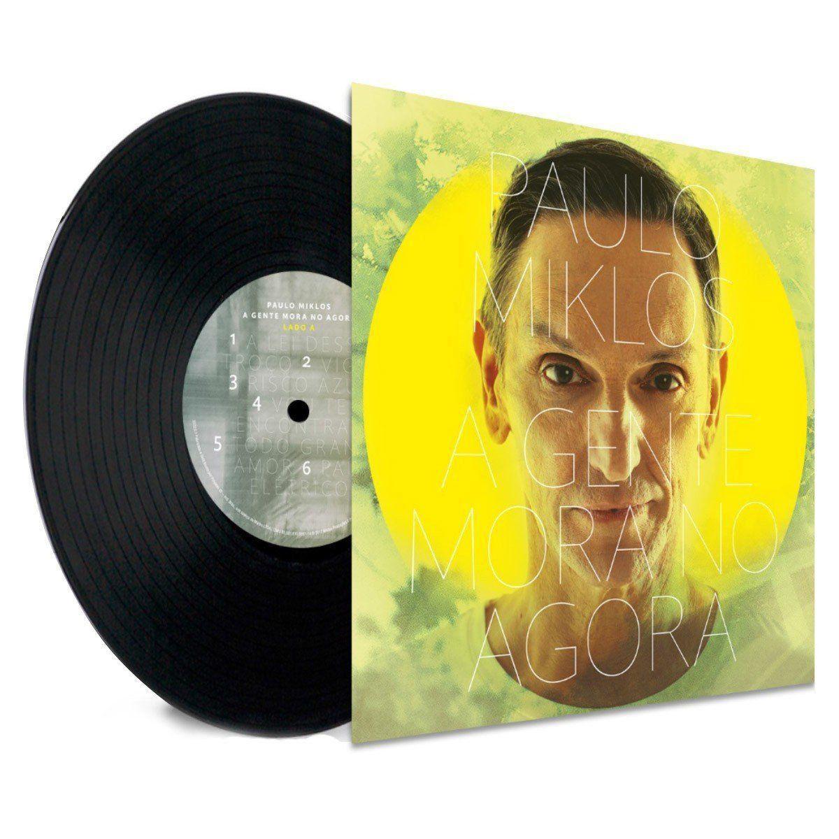 Vinil LP Paulo Miklos A Gente Mora no Agora  - bandUP Store Marketplace