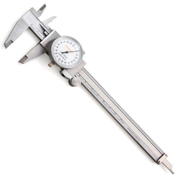 Paquímetro Com Relógio - Cap. 200mm - Graduação 0,02mm - DIGIMESS