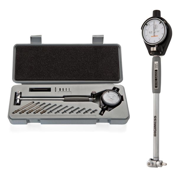Comparador De Diâmetros Internos Com Rosca Metal Duro (Súbito) - Cap. 160-250 mm - Graduação De 0,01mm - Haste 400mm - Ref. 130.568 - DIGIMESS