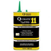 Fluido De Corte Quimatic 11 - Embalagem 500 ML - Com Melhor Custo Benefício, Pode Ser Utulizado Para Todos Os Metais, Exceto Alumínio E Suas Ligas - QUIMATIC/TAPMATIC
