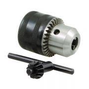 Mandril Com Chave - Super 1.5 - 10 mm (1/16 - 3/8) Com Encaixe Rosca 3/8 - 24 Unf - GOLDY