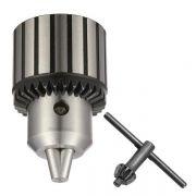 Mandril 5/8 Com Chave - Super 1.0 a 16mm - Encaixe Rosca 5/8 X 16 UNF - GOLDY
