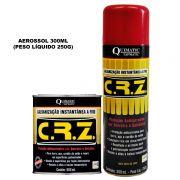 C. R. Z. – Galvanização Instantânea a Frio - Embalagem 300 ML Aerossol - QUIMATIC/TAPMATIC