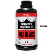 OXI BLACK F9 - Oxidação Preta Instantânea a Frio - Embalagem 5 Litros - QUIMATIC/TAPMATIC