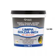 Limpa-Solda-Inox Gel Decapante e Passivante - Embalagem 3,4 Kg - QUIMATIC/TAPMATIC