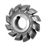 Fresa de Perfil Constante, Semi‐Circular Convexa, Raio 2 - 4 x 3,2 x 16mm - Detalonada - DIN 856 - Aço HSS (M2) - INDAÇO,