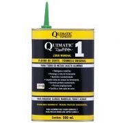 Fluido De Corte Quimatic 1 - Embalagem 500 ML - Para Todos Os Metais Ferrosos, Aços, Bronze E Inox - QUIMATIC/TAPMATIC