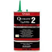 Fluido De Corte Quimatic 2 - Embalagem 500 ML - Para Alumínio, Zamac, Magnésio, Nylon E Plástico - QUIMATIC/TAPMATIC