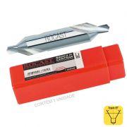 Broca De Centrar - 1,6 X 4,0 mm - DIN 333 A - Ref. 09,0001 - ROCAST