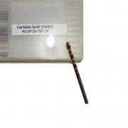 Broca Haste Paralela - Diâm. 2.8 X 57 X 30 - 2 Cortes