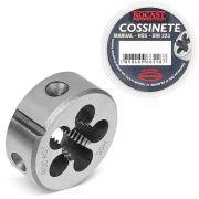 Cossinete Manual Em Aço Rápido (HSS) - Med. MF 10 x 1,0 - (MF) Rosca Métrica Fina - DIN 223 B - Ref. 13,0025 - ROCAST