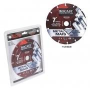 """Disco De Corte Diamantado Metal Mais - Metal Mais - Med. 7"""" - Ref. 412,0002 - ROCAST"""