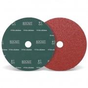 Disco De Lixa - Med. 177,8 x 22,2mm - Grana 120 - 10 Pçs