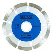 Disco Diamantado Combat - Segmentado - Med. 110 x 20 - Ref. 34,0012 - ROCAST