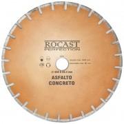 Disco Diamantado Grandes Diâmetros - Asfalto e Concreto - Med. 450x50,0 - Ref. 34,0010 - ROCAST
