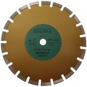 Disco Diamantado Grandes Diâmetros - Asfalto - Med. 350x25,4 - Ref. 34,0007 - ROCAST