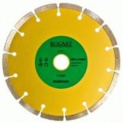 Disco Diamantado Para Esmerilhadeira - Segmentado - Med. 228x22 - Ref. 34,0005 - ROCAST