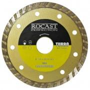 Disco Diamantado Para Esmerilhadeira - Turbo - Med. 115 x 22 - Ref. 34,0009 - ROCAST