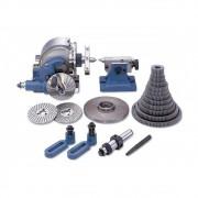 Divisor Universal Modelo BS-2 - Completo com Contra Ponto, Disco Divisor e Engrenagens - BT FIXO